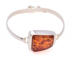 Cognac amber bracelet Premium Collection