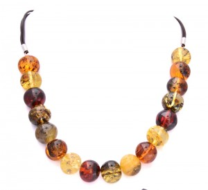 Mixed colors necklace Four Elements