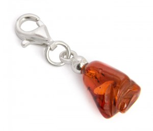 Key Chain amber Rose